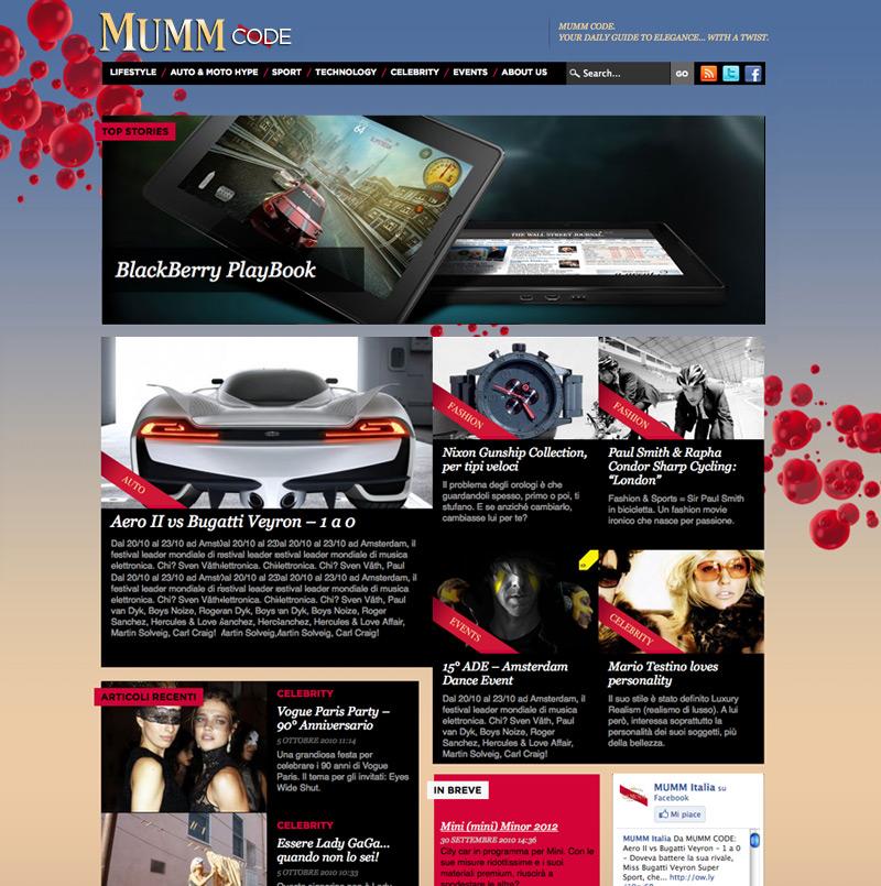 Mumm Code Online Magazine
