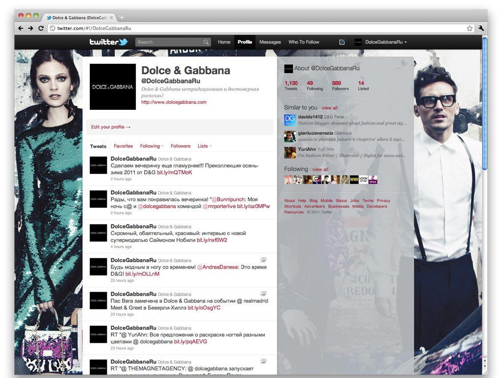 Dolce & Gabbana Russia